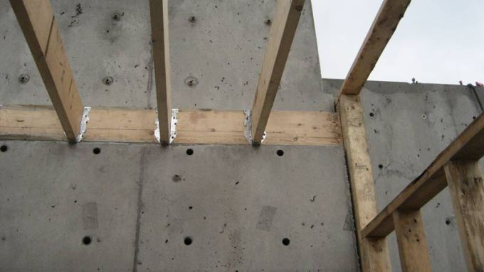 Fine How To Anchor Wood To Concrete Floor Sketch Best Home