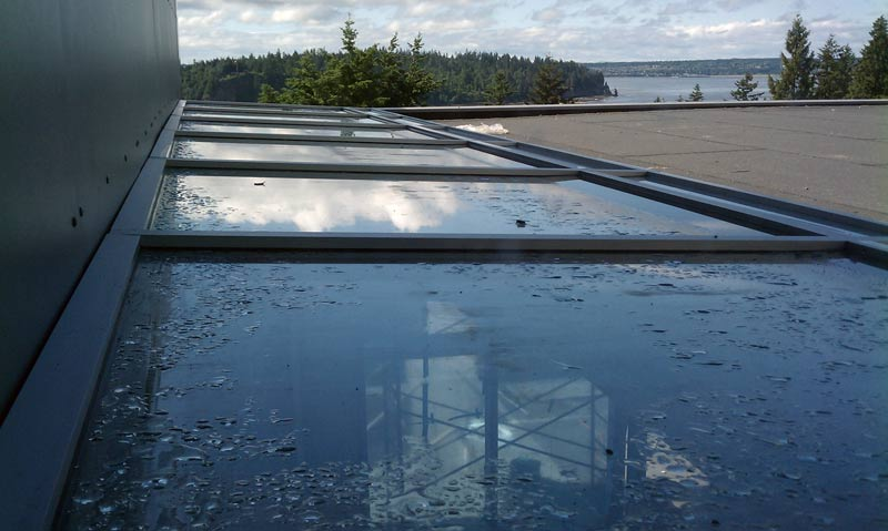 Detail  Esquimalt skylight  home building in Vancouver