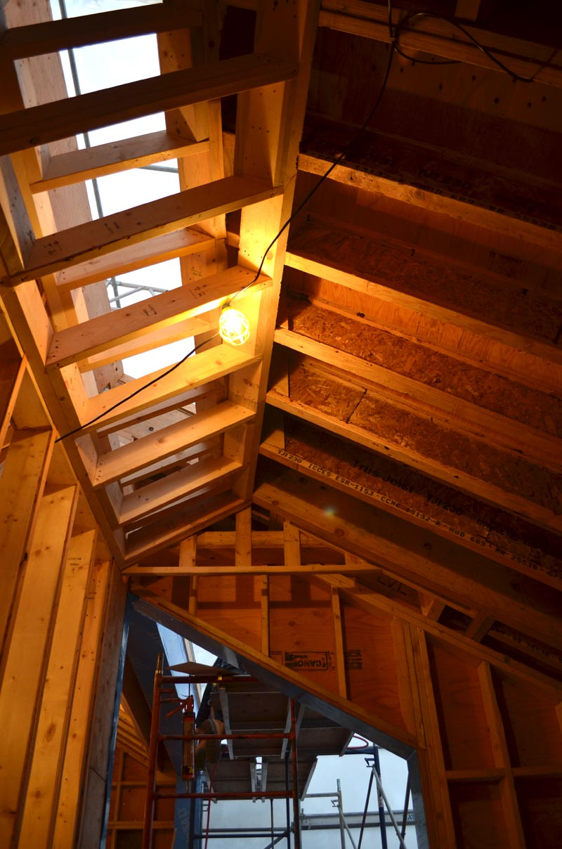 Dunbar  framing  home building in Vancouver