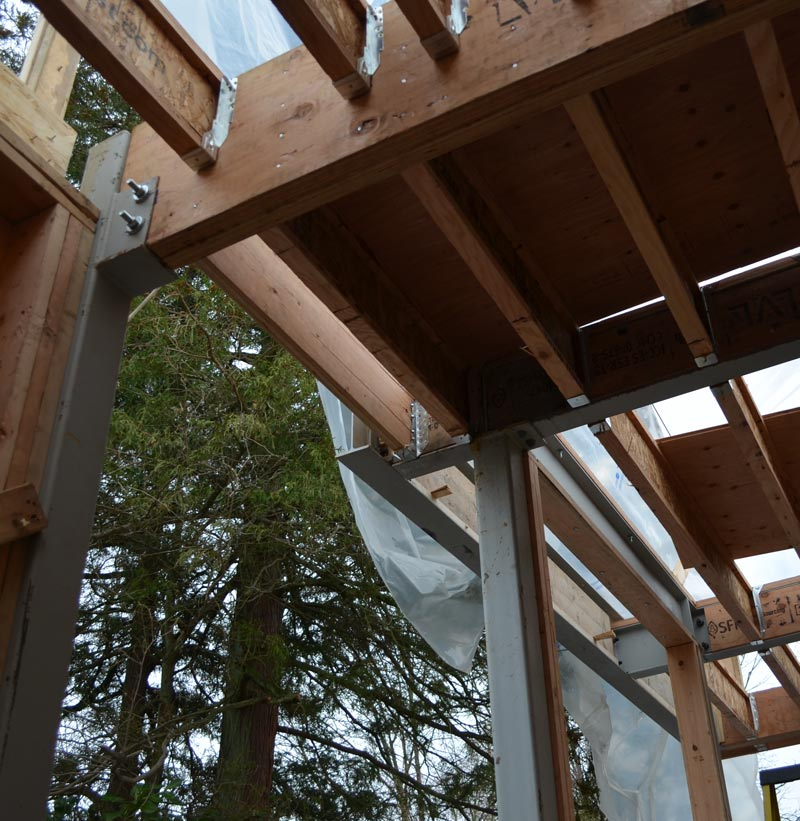 Point Grey 2  framing  home building in Vancouver
