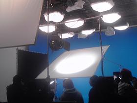 スタジオウェアハウスのムービー撮影