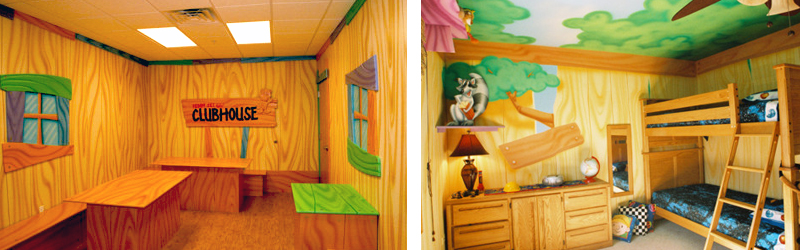 Children's Ministry Theme Ideas Clubhouse Treehouse