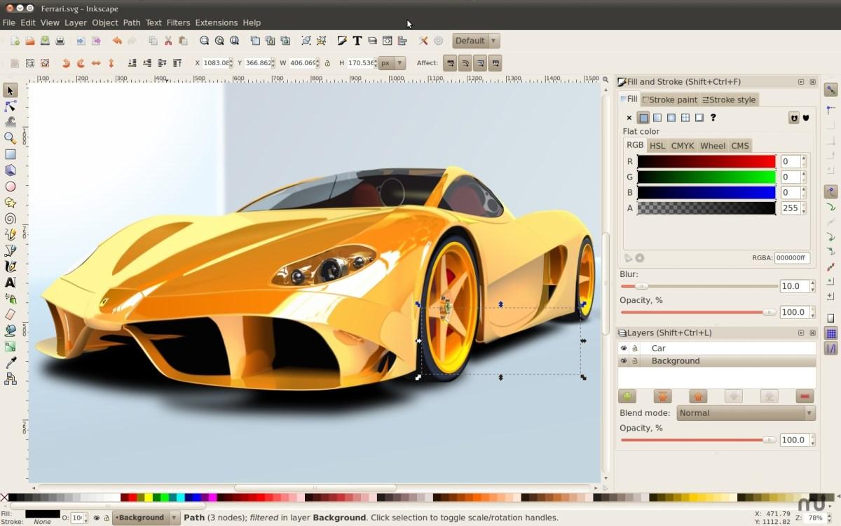 14-programs-for-graphics-tablet-inkscape - Каждый пиксель важен