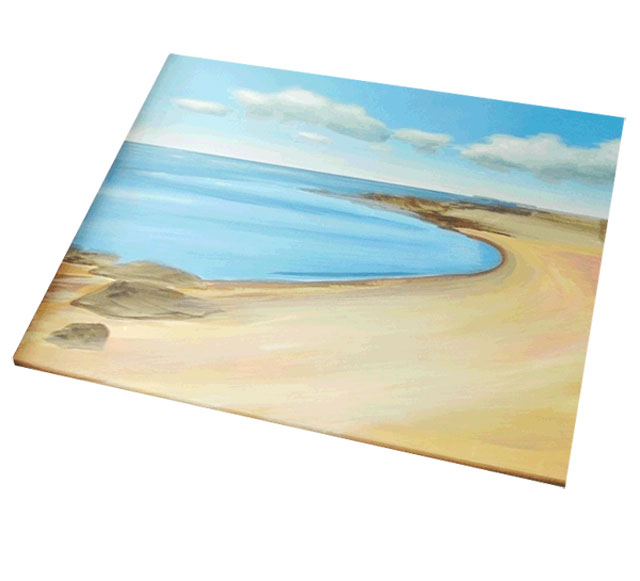 Painting A Seascape – Follow Along With Each Step