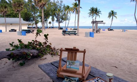 Plein Air Painting at Fort Lauderdale Beach