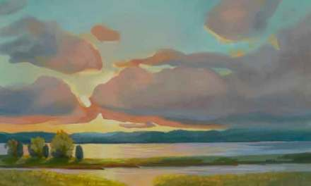 """Sunset On the Marsh"" New Oil Painting!"
