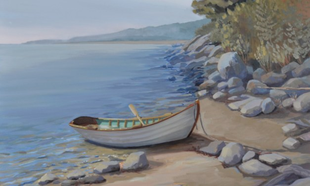 """Going Ashore"" Painting"