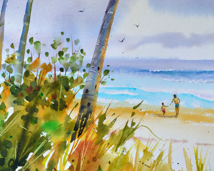 P J Cook Artist Studio Oil And Watercolor Painting Tips