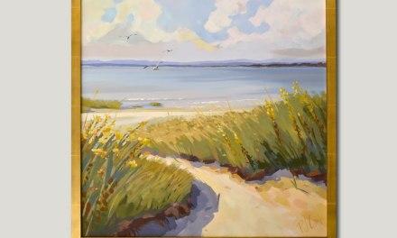 Salt Marsh Views Oil Painting