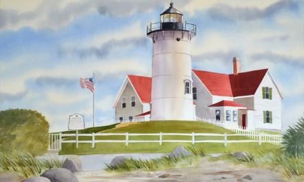 Make an Offer Cape Cod Lighthouse Original!