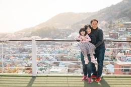 Busan Gamcheon Village Cherry Blossom Family Photographer-3