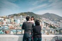 Busan Gamcheon Village Cherry Blossom Family Photographer-7