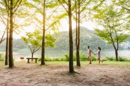 Seoul Nami Island Jade Garden Engagement Pre-wedding Photographer-15