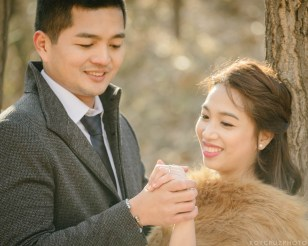 Seoul Forest Han River Engagement Photographer-6