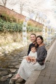 Jinhae Cherry Blossom Festival Yeojwacheon Stream Family Portrait Photographer South Korea-13