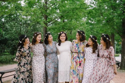 Busan South Korea Wedding Bridesmaids Portrait Photographer-1