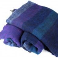 Himalayan Yak Wool Shawl from Santosa