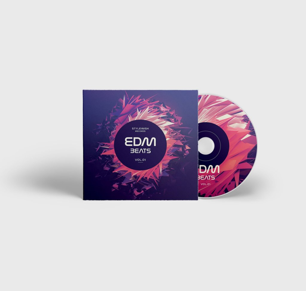 EDM Beats CD Cover Artwork