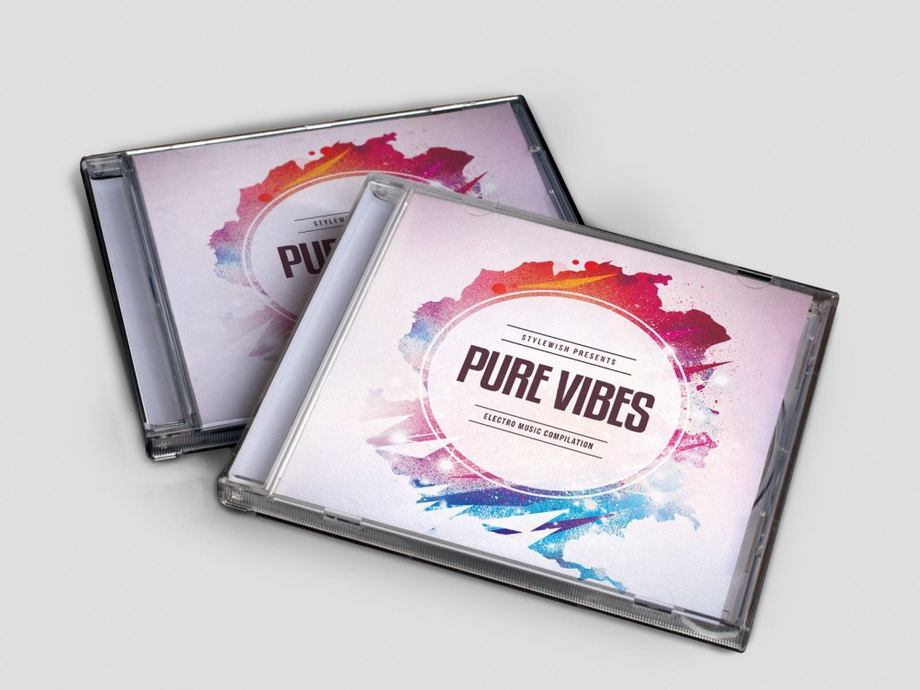 Pure Vibes CD Cover