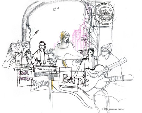 bernie-rally-musicians-900x717