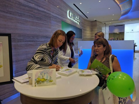 CHASE EVENT AT THE OCULUS   Veronica Lawlor