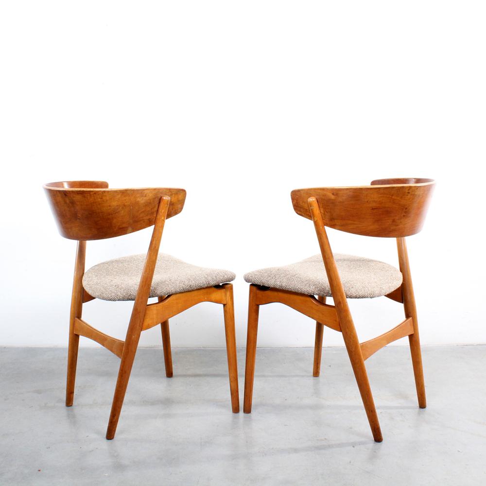 studio1900  Helge Sibast No 7 chairs Danish design stoelen