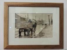 framed horse cart