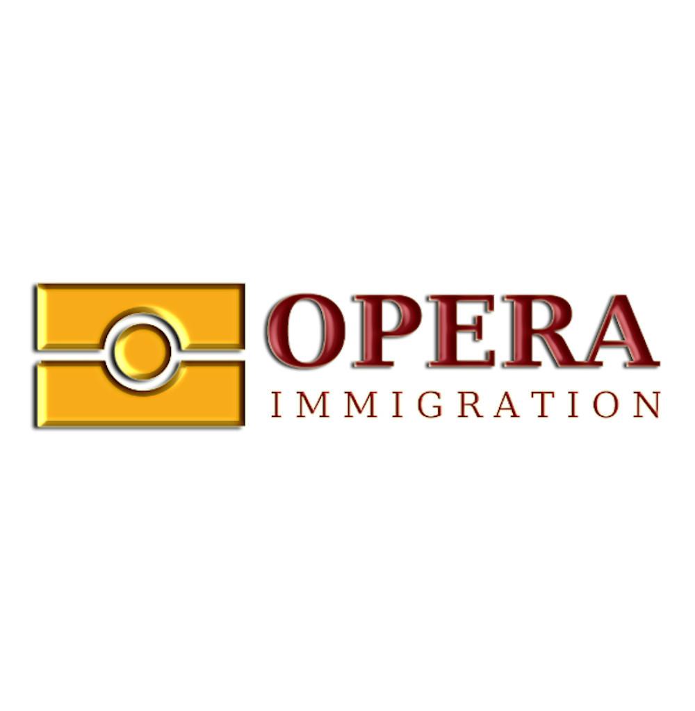projekt logotypu dla opera immigration - studio24
