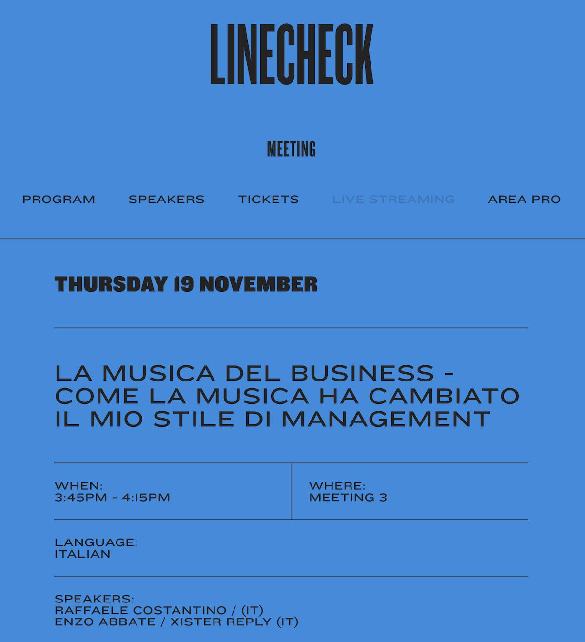 Studio 33 x Linecheck2020