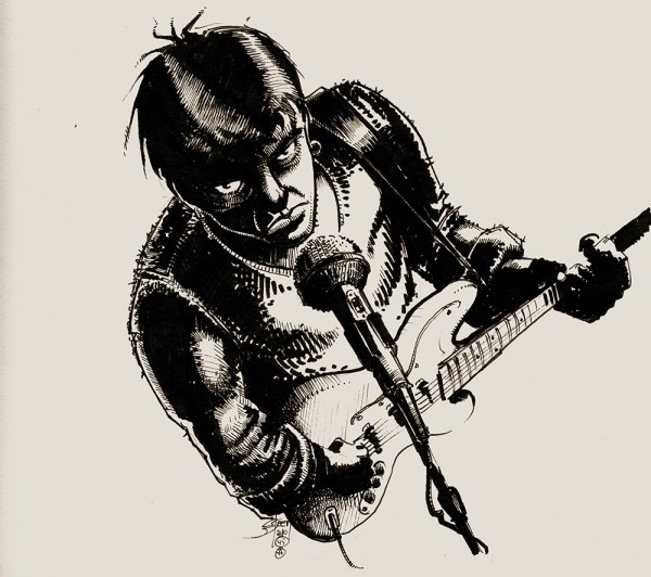 20 Pencil Drawings Of Guitar Players Pictures And Ideas On Meta
