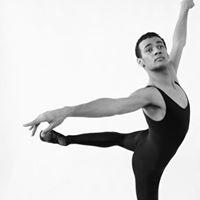 Male Dancer in arabesque