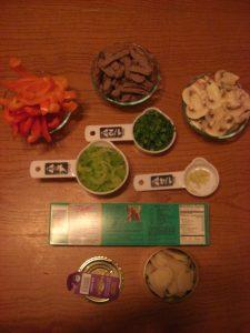 Prepped Ingredients SUPERPASTA Stir Fry