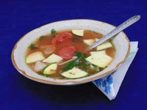 Low-Cal Minestrone Soup