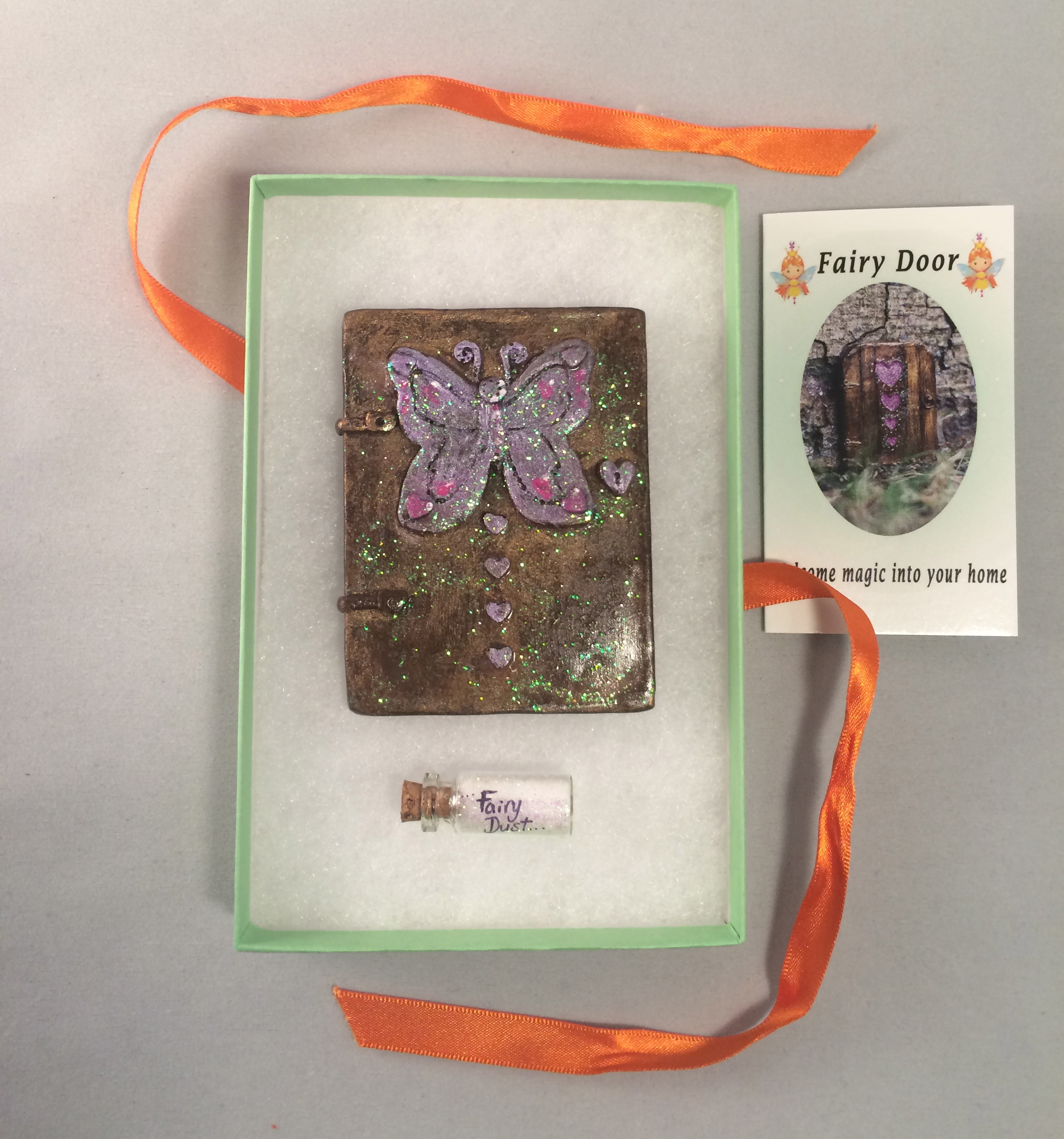 Butterfly Fairy Door – lilac