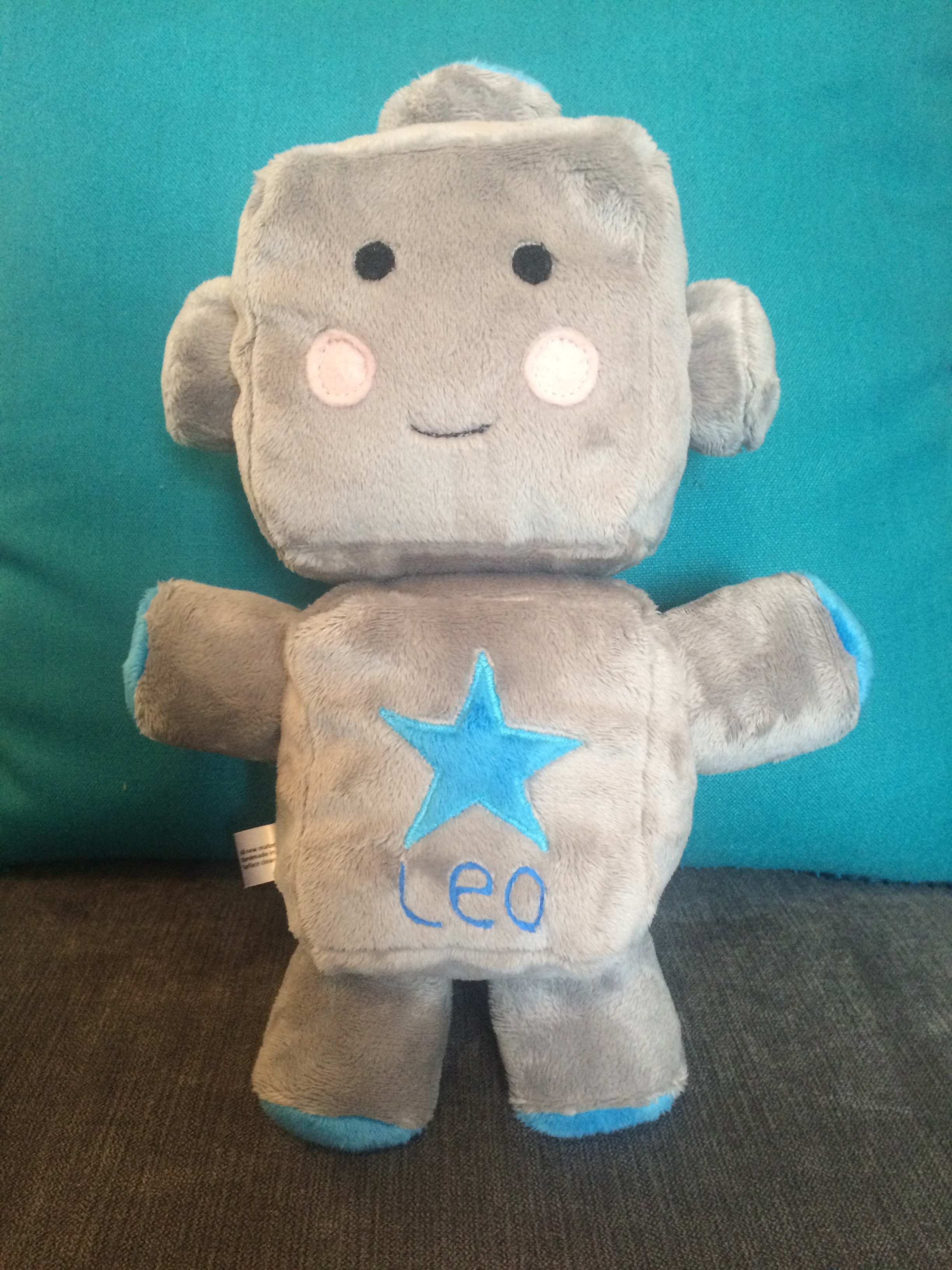 Robot plush toy – Leo