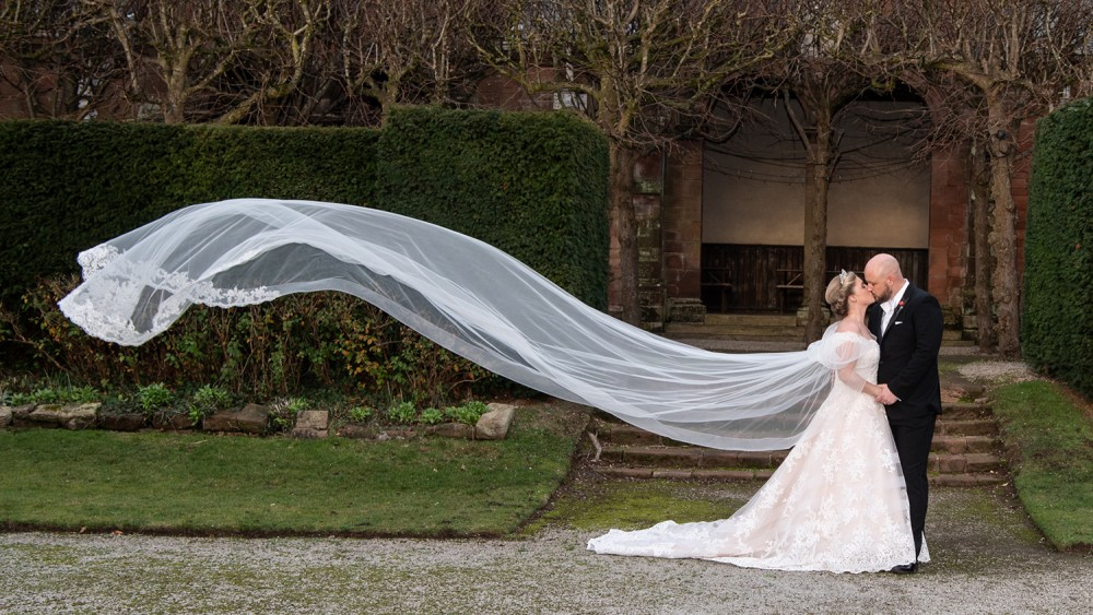Bride's Cathedral length veil