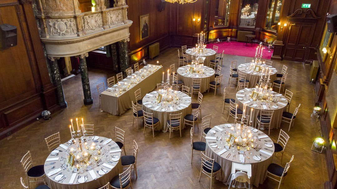 Drone image of music room Thornton Mano Wedding photography by Studio 900, Wirral