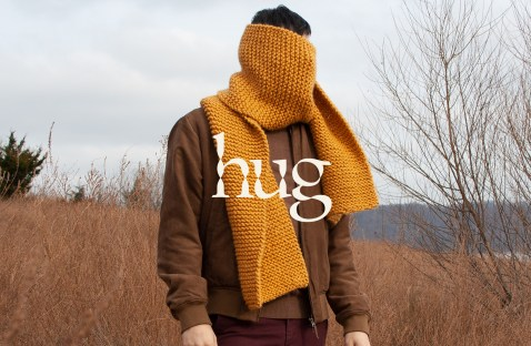 Hug Scarfs by Adam Lowe