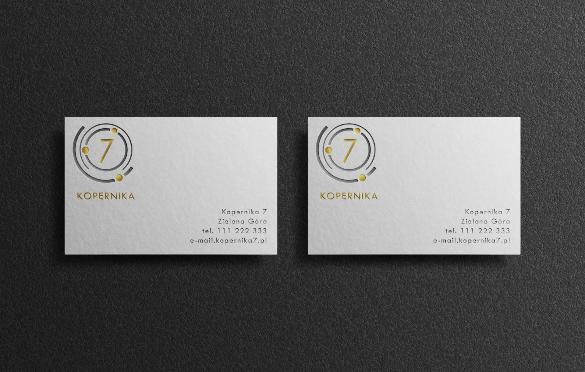 Projekty graficzne dla hoteli. Projekt wizytówki hotelowej.