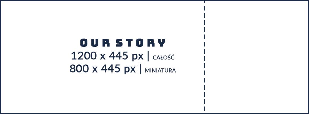 Grafiki na facebook - Nasza historia