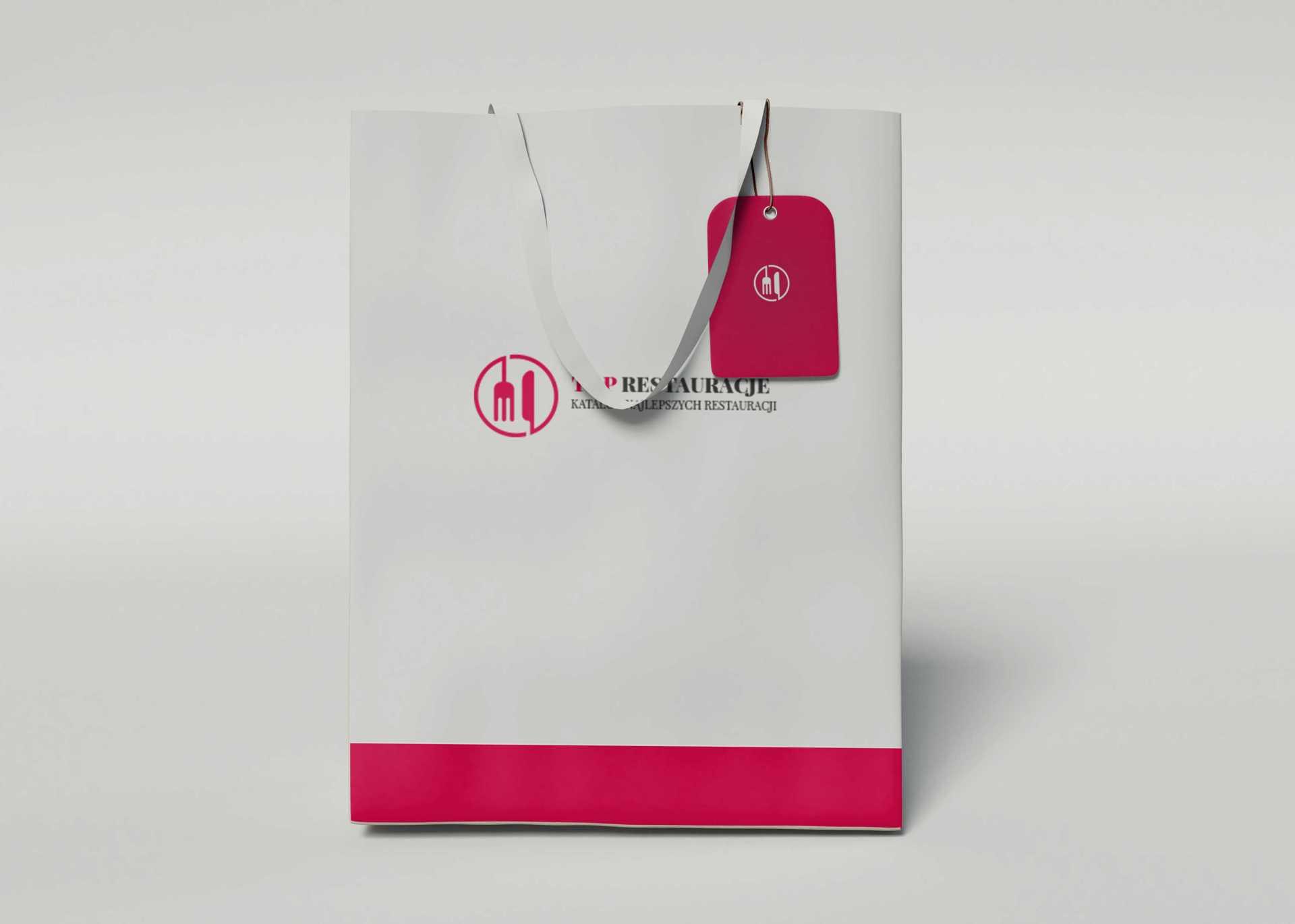 torba z logo firmy