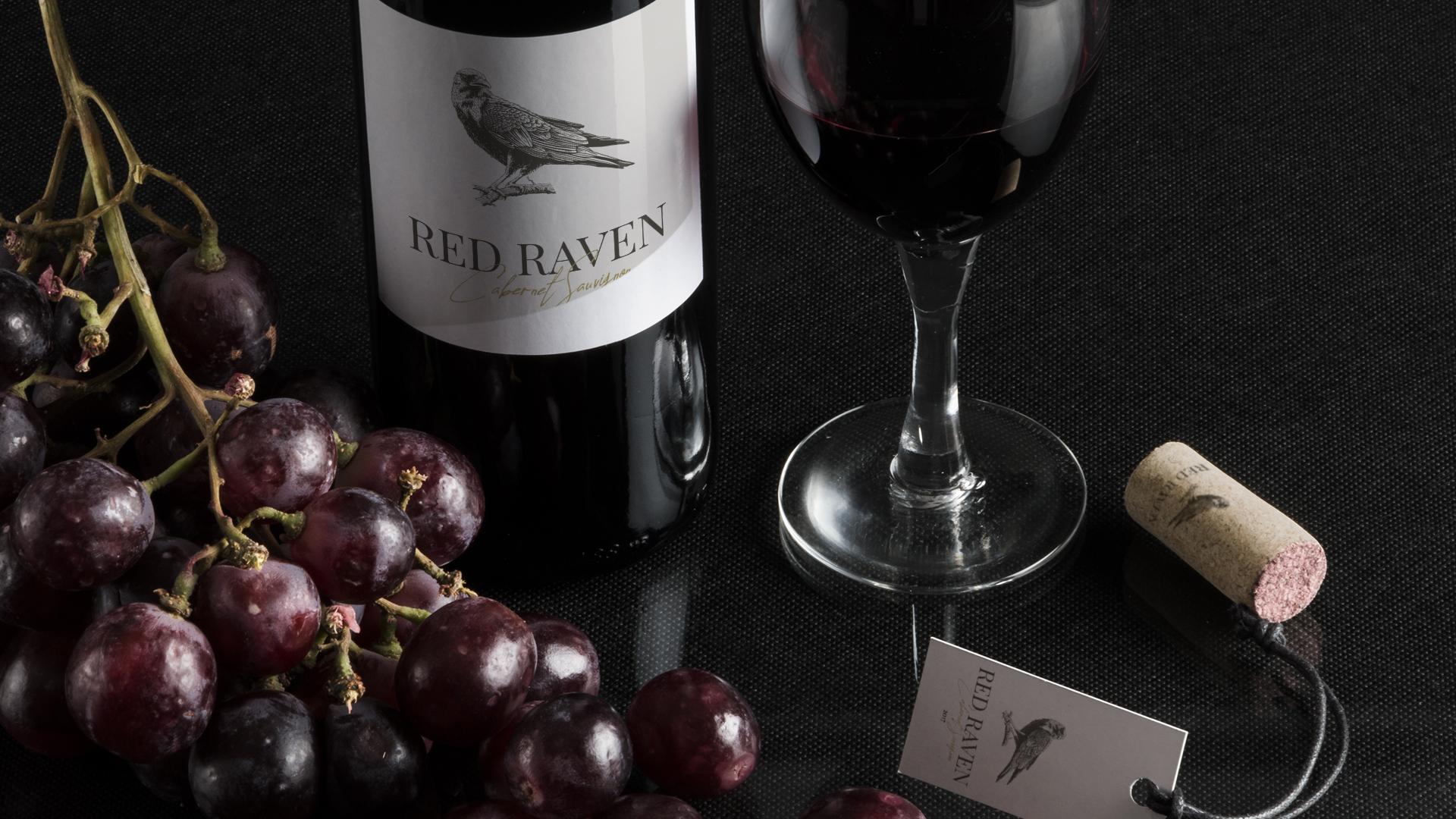 grafika etykieta na wino