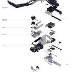 Exploded Axon Diagram Freightliner Columbia Headlight Wiring 1000 43 Images About Architecture Axonometric On Pinterest