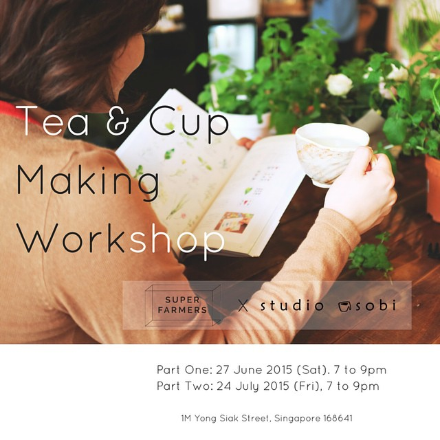 Tea and cup making workshop