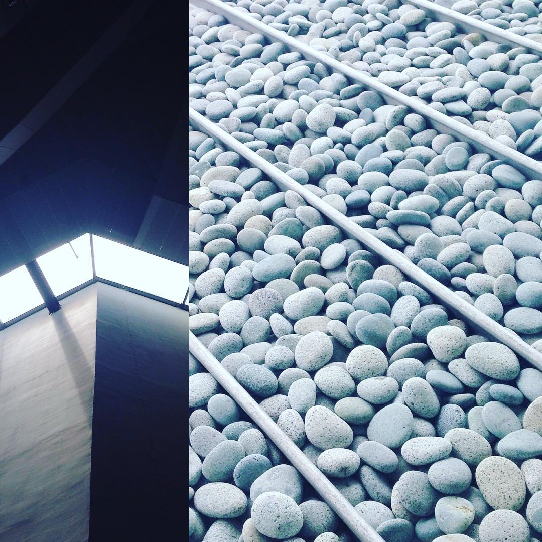 Zen beauty revealed in a hot afternoon  #zen #beauty reminds me of #tadaoando #architecture #Singapore #jurong #studioasobi