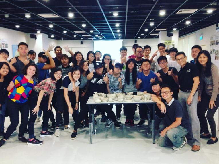We just spent a fun day with students and staff of the Product Design & Innovation course at Ngee Ann Polytechnic! It was a privilege to be able to share our love for the versatility of clay with these future product designers of Singapore:) #clay #pottery #Singapore #productdesign #design #sgworkshops #studioasobi