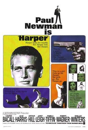 Paul Newman as private eye Lew Harper (1/5)