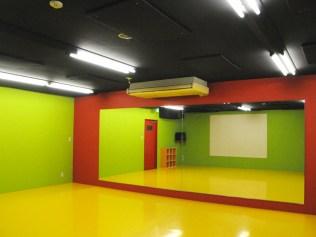 スタジオバース倉敷,DANCESTUDIO B 25帖