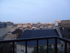 Depuis le balcon du séjour