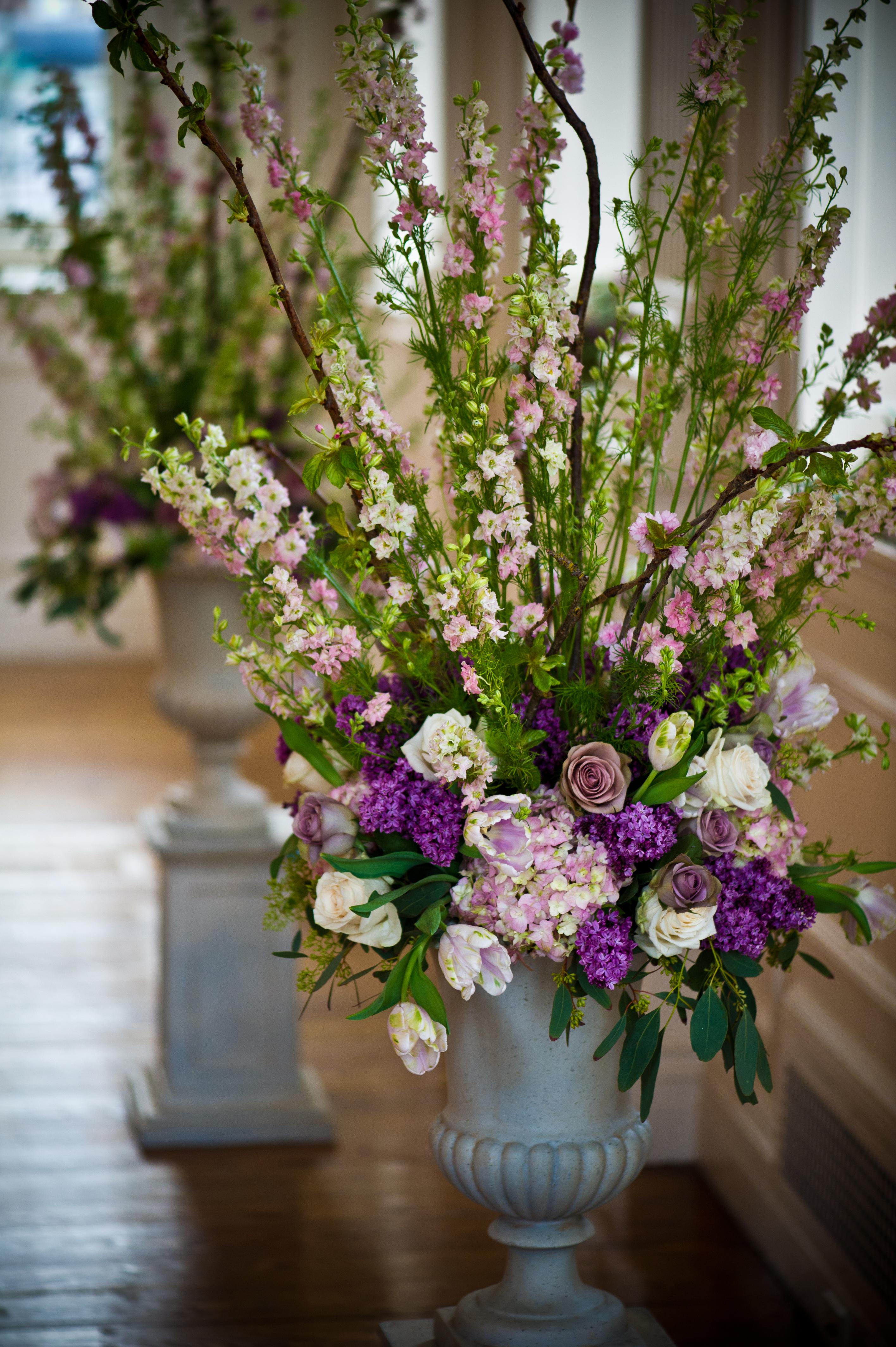 Ceremony Decor  Blush Floral Design